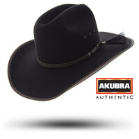 Akubra Saddle Bronc (69100) Tan Bark 55  [SD]