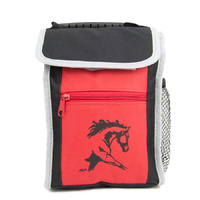Brigalow Horse Head Lunch Box (GG772) Red/Black [SD]