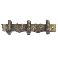 Brigalow Cast Iron Wall Hooks - 3 Hooks (6003)