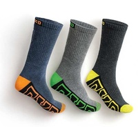 FXD SK-1 Long Socks 5 Pack (FX71139003) Multi 7-12