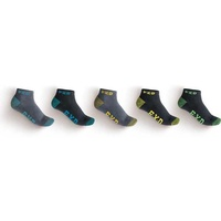 FXD SK-3 Ankle Socks 5 Pack (FX71139008) Black/Marle 7-12