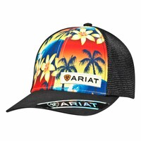 Ariat Unisex Cap (1514601) Black/Sunset