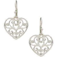 Montana Jewellery Petite Heart Earrings (ER2282D)