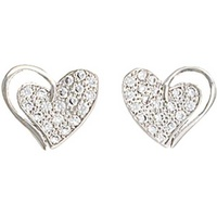 Montana Jewellery Heart Print Earrings (ER2512)