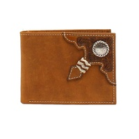 Ariat Rodeo Bi-fold Wallet (A3527644) Distressed Brown