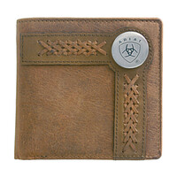 Ariat Bi-Fold Wallet (WLT2102A) Tan