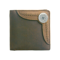 Ariat Bi-Fold Wallet (WLT2103A) Brown/Tan