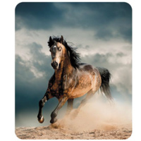 GALLOPING HORSE P/FLEECE RUG 127CM X 152CM 58829