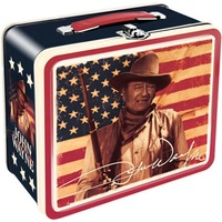 John Wayne Flag Lunch Box (OPLB48111)