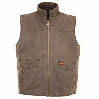 Outback Mens Landsman Vest (2803) Brown