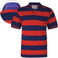 Thomas Cook Mens Anglesea Stripe S/S Polo (T6S1509021)