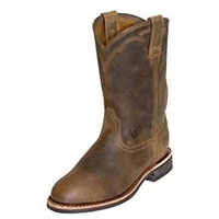 Ariat Mens Dura Roper Boots (10002163) Distressed Brown