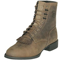 Ariat Womens Heritage Lacer II Boots (10002147) Distressed Brown