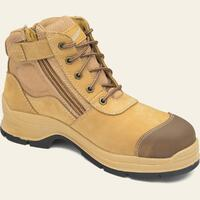 Blundstone 318 Lace Up Zip Safety Boots (318)