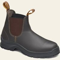 Blundstone Mens 405 Elastic Sided Work Boots (405) Brown