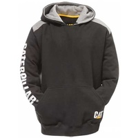 CAT Mens Logo Panel Hooded Sweatshirt (1910802)