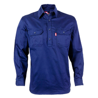 Jonsson Closed Front L/S Work Shirt (C1028)