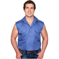 Just Country Mens Jack Sleeveless Work Shirt (10103)