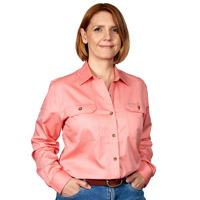 Just Country Womens Brooke Work Shirt (50502)