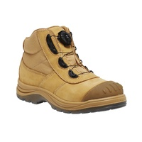 KingGee Mens Tradie BOA Series Safety Boots (K27170) Wheat [AD]