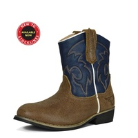 Pure Western Childrens Buckaroo Boots (PCP78035)