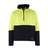 Rainbird Mens Hi Vis Woruga Pullover (8705) Yellow/Navy