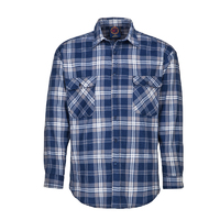 Ritemate Adults Flannelette Open Front Shirt (RM123FOF)