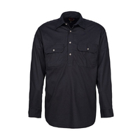 Ritemate Mens Pilbara Closed Front Shirt (RM200CF)