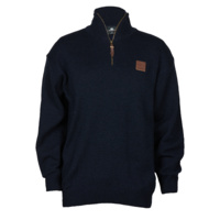 Swanndri Mens Mariner Zip Neck Sweater (SSD2446)