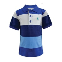 Thomas Cook Boys Coonamble Stripe S/S Polo (T7S3500017)   [SD]