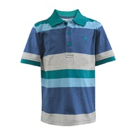 Thomas Cook Boys Rockhampton Stripe S/S Polo (T7S3500023)   [SD]