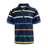 Thomas Cook Boys Woomera Stripe S/S Polo (T7S3500020)   [SD]