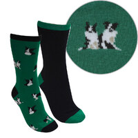 Thomas Cook Childrens Farmyard Socks 2 Pack (TCP7908SOC)