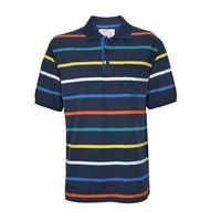 Thomas Cook Mens Woomera Stripe S/S Polo (T7S1509020)   [SD]