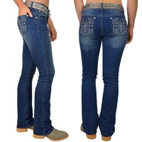 Pure Western Womens Bella Bootcut Jeans (PCP2200016) Indigo