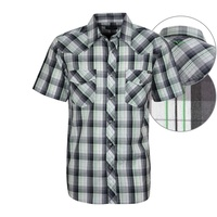 Wrangler Mens Hartley Check S/S Shirt (X7S1117192)    [SD]