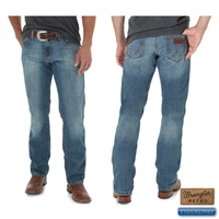 Wrangler Mens Retro Slim Straight Jeans (88MWZRT34)