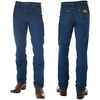 Wrangler Mens Cowboy Cut Slim Fit Pre Washed Jeans (936PWD)