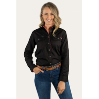 Ringers Western Womens The Pentecost River Full Button Work Shirt (171210001)