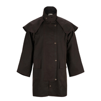 Burke & Wills Stockman 3/4 Length Oilskin Coat (STOCKS)