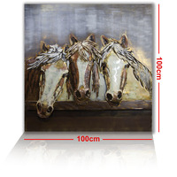 Brigalow 3D Metal Wall Art