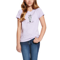 Ariat Girls Party Animal Tee (10022160) [SD]