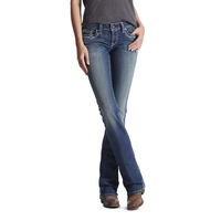 Ariat Womens Real Riding Jeans (10017510) Entwined Marine
