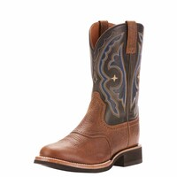 Ariat Mens Quantum Crepe Boots (10025104) Earth/Tack Room Black
