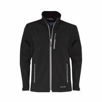 Just Country Mens Geoffrey Softshell Jacket (MCOJ1913) Black