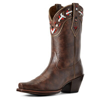 Ariat Womens Frontera Boots (10029766) Brown Crunch [SD]