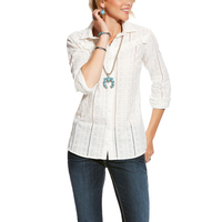 Ariat Womens Daisy Shirt (10025467) White [SD]