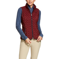 Ariat Womens Ashley Vest (10028087) Cabernet 2XL