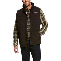 Ariat Mens Crius Vest (10028380) Espresso Heather 2XL