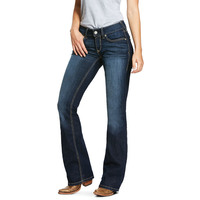 Ariat Womens R.E.A.L. Bootcut Jeans (10030251) Lucia Willow